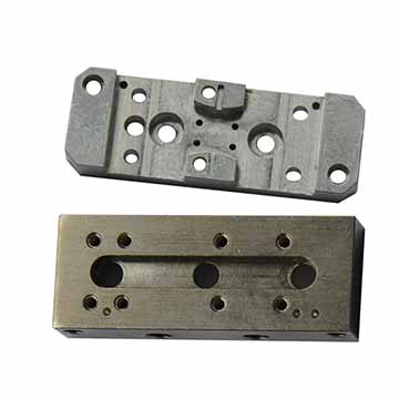 Housing and cover plate, 6061-T6, Nickle plating